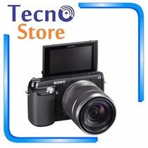 Câmera Digital Sony Nex-f3k 18 55mm 16mp Full Hd Panorama 3d