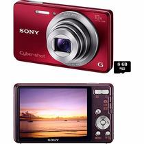 Câmera Digital Sony Cyber Shot Dsc W690 16.1mp + Cartão 8gb