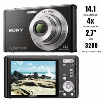 Câmera Digital Cyber-shot Dsc-w530 Preta -sem Cartão Memória