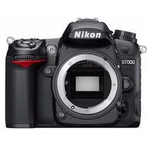 Câmera Nikon Dslr D7000 16.2mp Vídeo Hd 1080p - Só Corpo