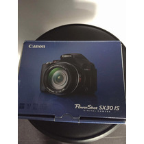 Canon Powershot Sx30 Is Nova Camera Semi Profissional Zoom