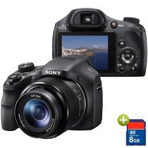 Câmera Digital Sony Dsc-hx300, 20.4mp, Lcd 3, Zoom 50x