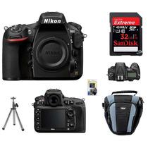 Câmera Nikon D810 Corpo - Full Frame Kit 32gb C/10, Loja Sp