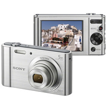 Câmera Digital Sony Cyber-shot Dsc-w800 20.1mp, Lcd 2,7