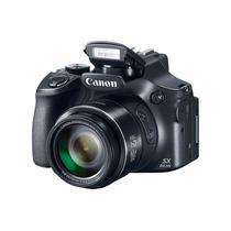 Câmera Canon Powershot Hs Sx60hs Fullhd 65x 16.1mp + Brinde