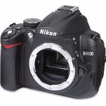 Nikon Reflex D5000 (so Corpo) + 2 Baterias E Carregador