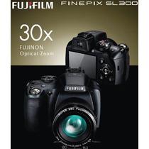 Semi Profissional Fuji Film Sl300 14mp + 32 Gb De Memoria