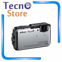 Câmera Digital Nikon Aw-110 16mp Full Hd Gps Wifi Resistente