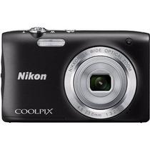 Câmera Digital Nikon Coolpix S2900 20.1mp Zoom 5 X + Brinde