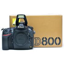 Nikon D800 Novinha Só 60.000 Cliques 3042400