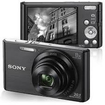 Câmera Digital Sony Dsc-w830   Zoom Optico 8x   20.1 Mp