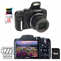 Camera Digital Canon Powershot Sx170 Is 16.0 Megapixels Zoom