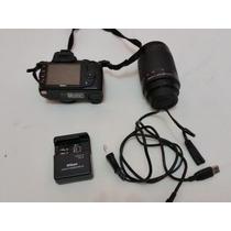 Câmera Nikon D3000 + Lente 70-300mm - Retire Em Fortaleza
