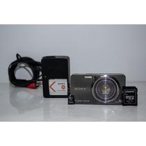 Câmera Digital Sony Dsc W570 16.1mp Cartão De 4gb + Tripe