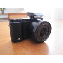 Câmera Samsung Nx3300 Retrô Com Lentes 16-50mm