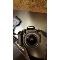 Camera Canon T3 Com Lente 18-55 Com Carregador E Bolsa Canon