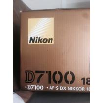 Corpo Nikon D7100 Nova Na Caixa - Aceito Trocas