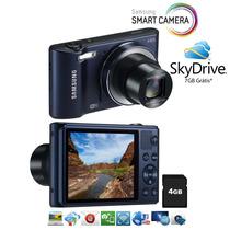 Câmera Samsung Smart Wb30f Preto 16.2 Mp