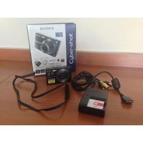 Sony Cybershot Dsc W125 / Cartão De Memória 1gb - Na Caixa