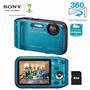 Maquina Digital Sony Dsc-tf1 16.1 Mp Lcd 2,7 Prova Dágua 8gb