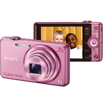 Câmera Digital Sony Wx200 Rosa 18.2 Mp, Lcd De 2,7