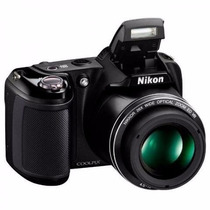 Câmera Semi-profissional Nikon L330 20.2mp 26x Nova Lacrada