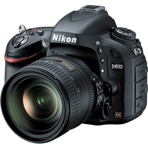 Nikon D610 Dslr + Lente 24-85mm F/3.5-4.5g Vr Pronta Entrega