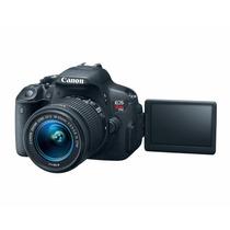 Canon Eos Rebel T5i 18-55 +16gb Retirada No Local