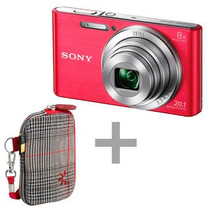 Camera Sony Dsc W-830 20.1 Ros +capa (case)