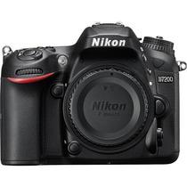 Nikon Dslr D7200 - 24.2mp. - Somente O Corpo