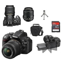 Câmera Nikon D5200 Kit 18-55mm + Cartão 32gb + Tripé