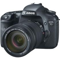 Câmera Canon Eos 7d Kit Lente 18-135mm