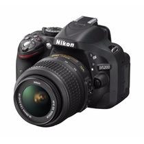 Camera Nikon D5200 Kit 18-55mm Full Hd Preta