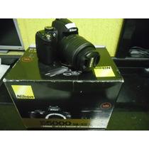Câmera Digital Nikon D5000 18-55 Mm Vr Af-s *queima Estoque*