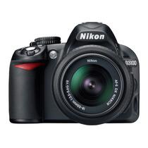 Câmera Nikon D3100 Kit Lente 18 X 55 Mm !!!oferta!!! Nova!!!