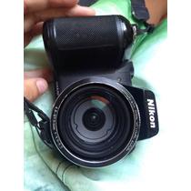 Camera Nikon Semi Profissional (pouco Tempo De Uso)