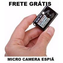 Micro Maquina Fotografica Gravadora De Video Fotos Som Espiã
