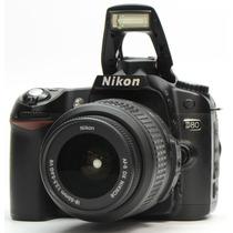 Nikon D80 + 18-55mm + Cartão 16gb + Bolsa