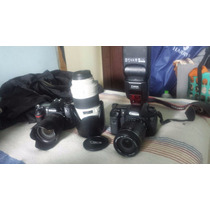 Canon 7d Com Lente 18-135