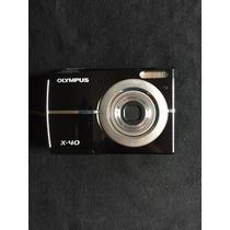 Máquina Fotográfica Olympus X-40 (leia A Descrição)
