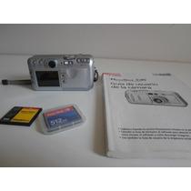 Câmera Maquina Digital Canon 5.0 Mega Pixels Funcioando Perf