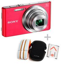 Camera Sony Dsc W-830 20.1 +capa (case)