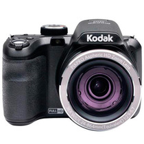 Câmera Digital Kodak 16mp Az251 Preta