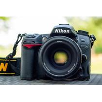 Nikon D7000 + Kit Af-s Nikkor 50mm F/1.8g + 32gb
