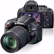 Câmera Nikon D5100 C/ Lente Af- S Nikkor 18-55mm