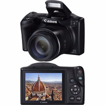 Câmera Semiprofissional Canon Sx400is 16mp Zoom Óptico 30x