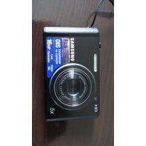 Câmera Digital Samsung St77, Preta 16 Megapixel, Video Em Hd