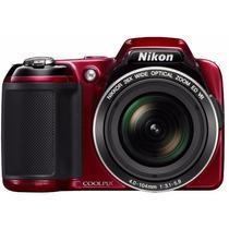 Camera Nikon Coolpix L810 16.1mp + 8gb + Zoom 26x + Vr + Nf