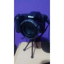 Camera Nikon Coolpix L810 16mp Zoom 26x Usada (semi Nova)