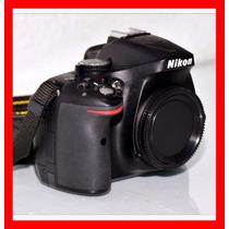 Nikon D5200 24mp Caixa Completa +2brindes[corpo] Fretegratis